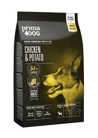 PD Chicken potato for small adult dogs
