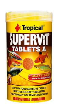 SUPERVIT-TABLETS-A-250-ml корм для рыб